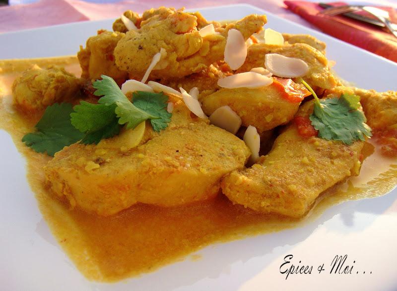 Une superbe recette indienne découverte chez Laurence Petits repas ...