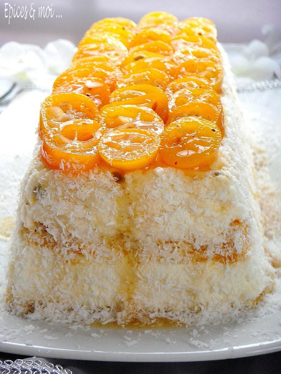 Entremets kumquats 1