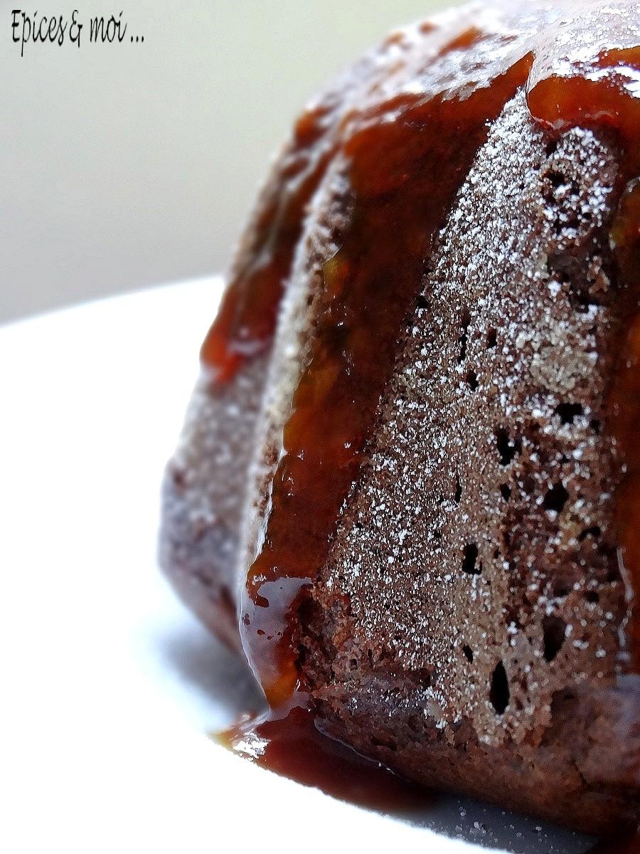 Gâteau épicé aux kaki6