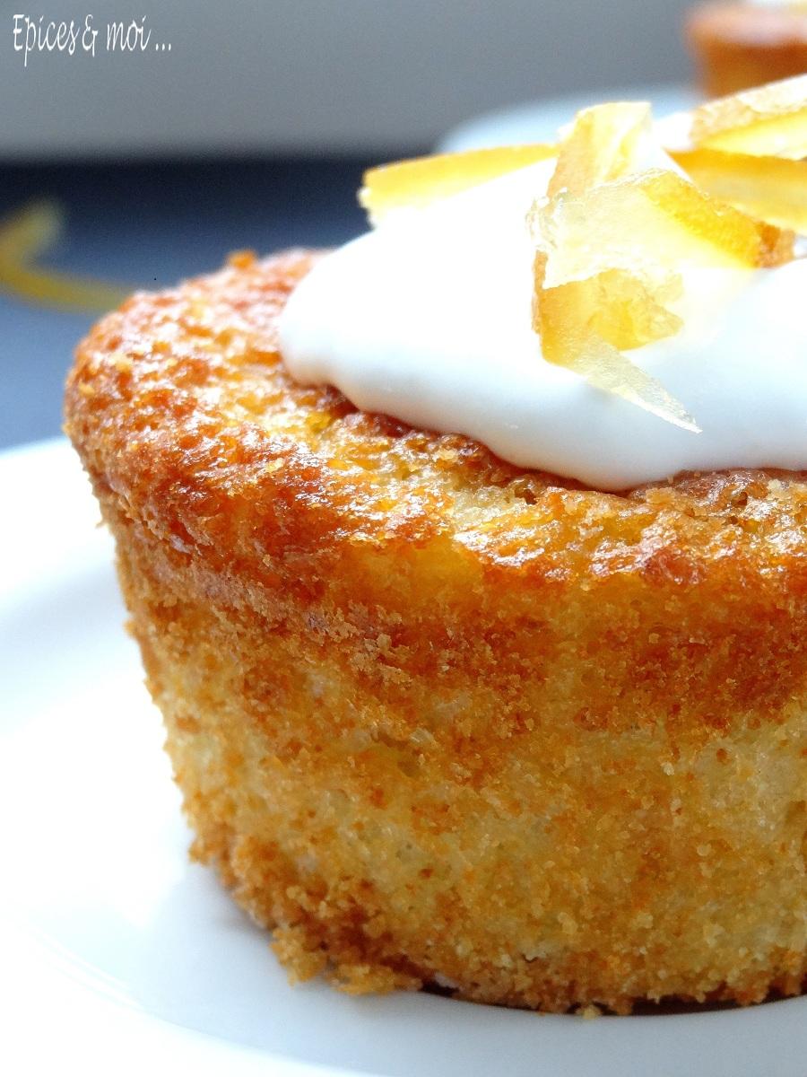 Gâteau léger à la bergamote2