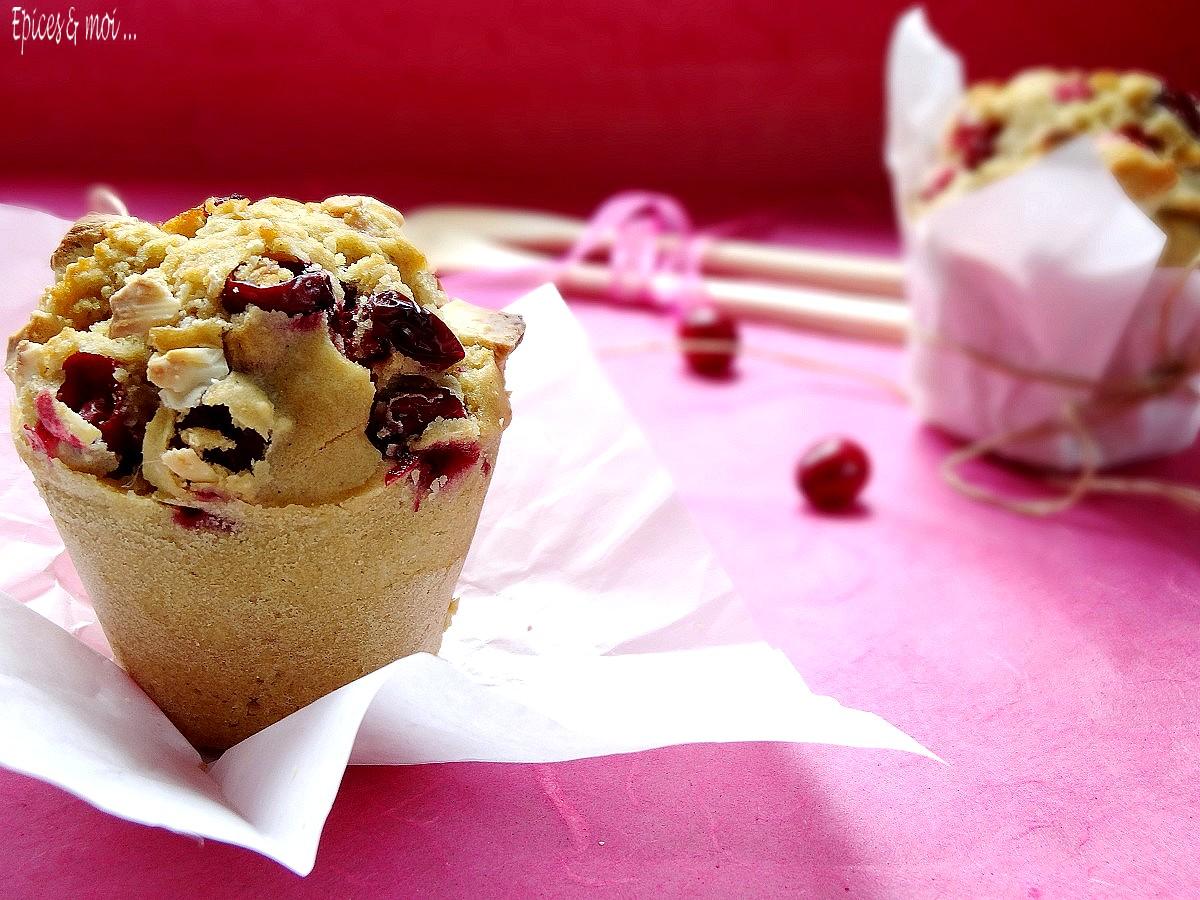 Muffins cranberries 6