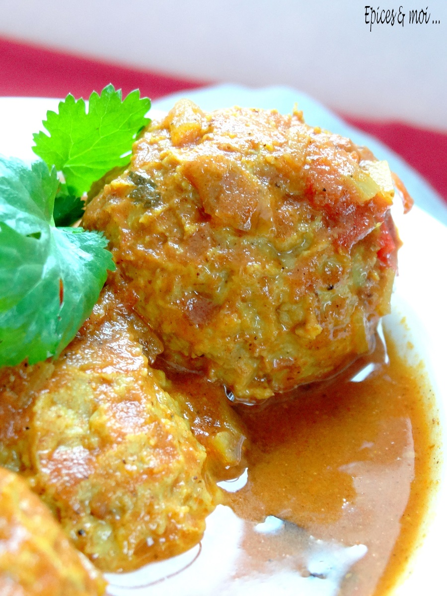 Koftas de poulet à l'indienne 4