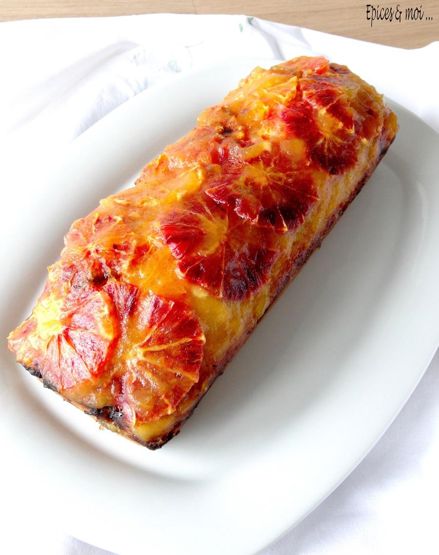 Gâteau aux oranges 3