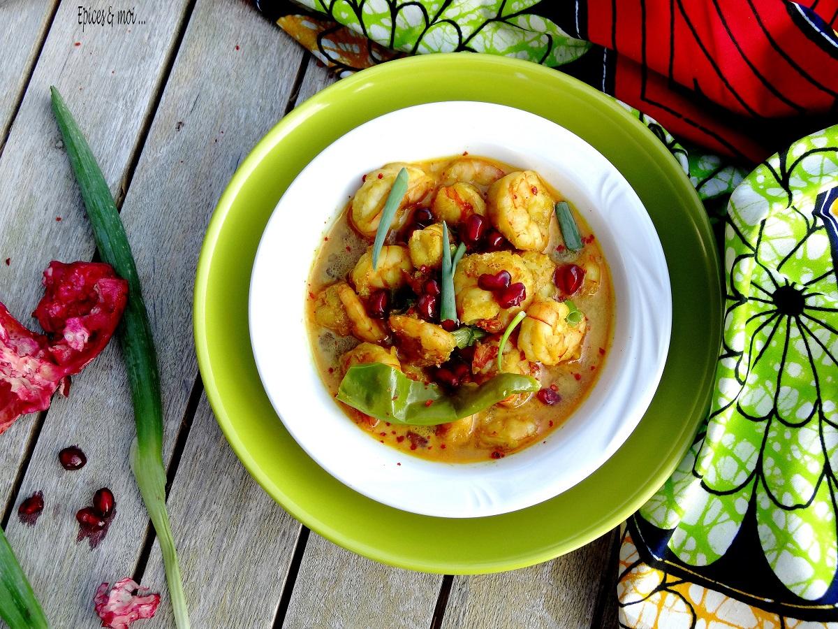 Curry de crevettes grenade 2