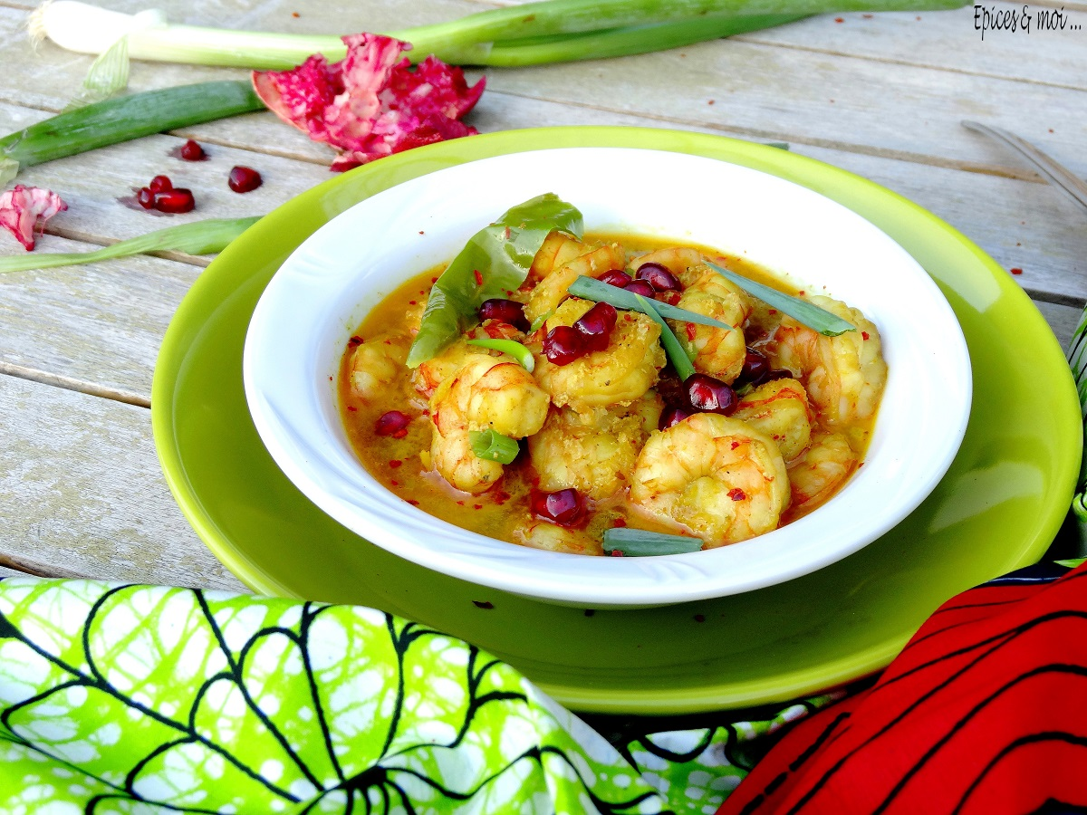 Curry de crevettes grenade 5