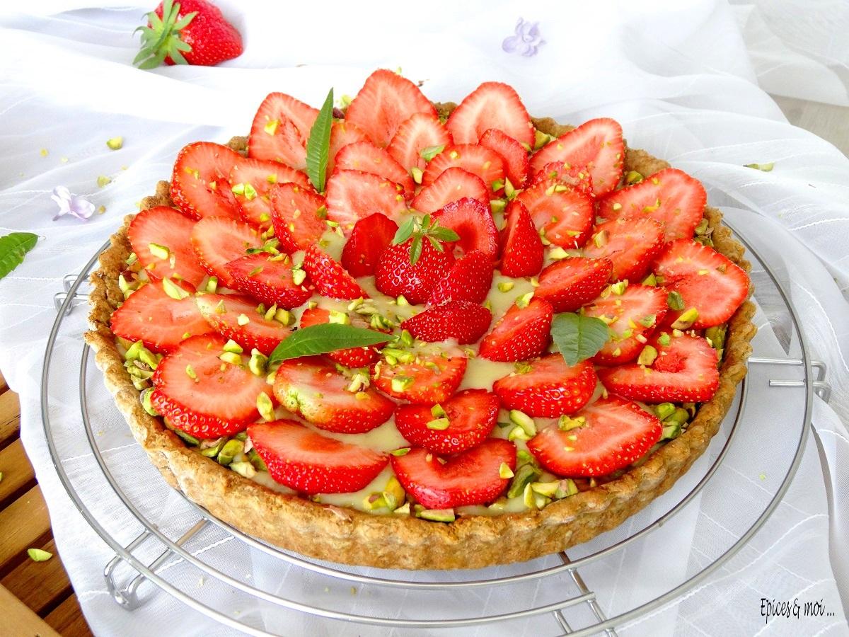 recette tarte aux fraises maison disposez vos fraises. Black Bedroom Furniture Sets. Home Design Ideas