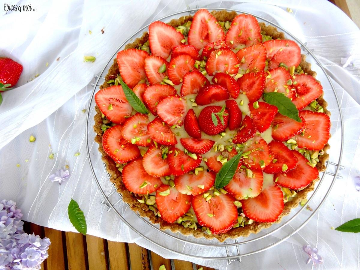 E&M tarte fraises pistache 3