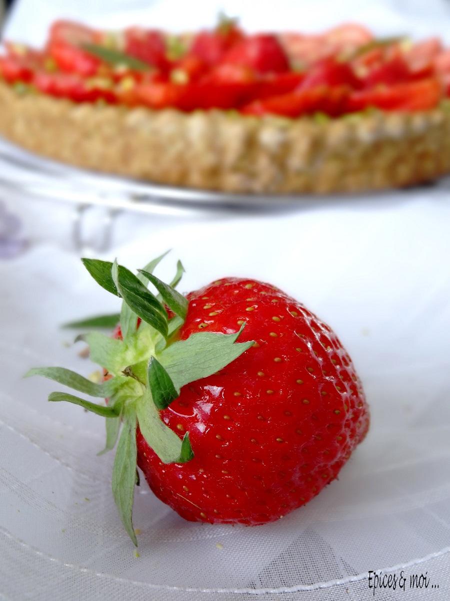 E&M tarte fraises pistache 6