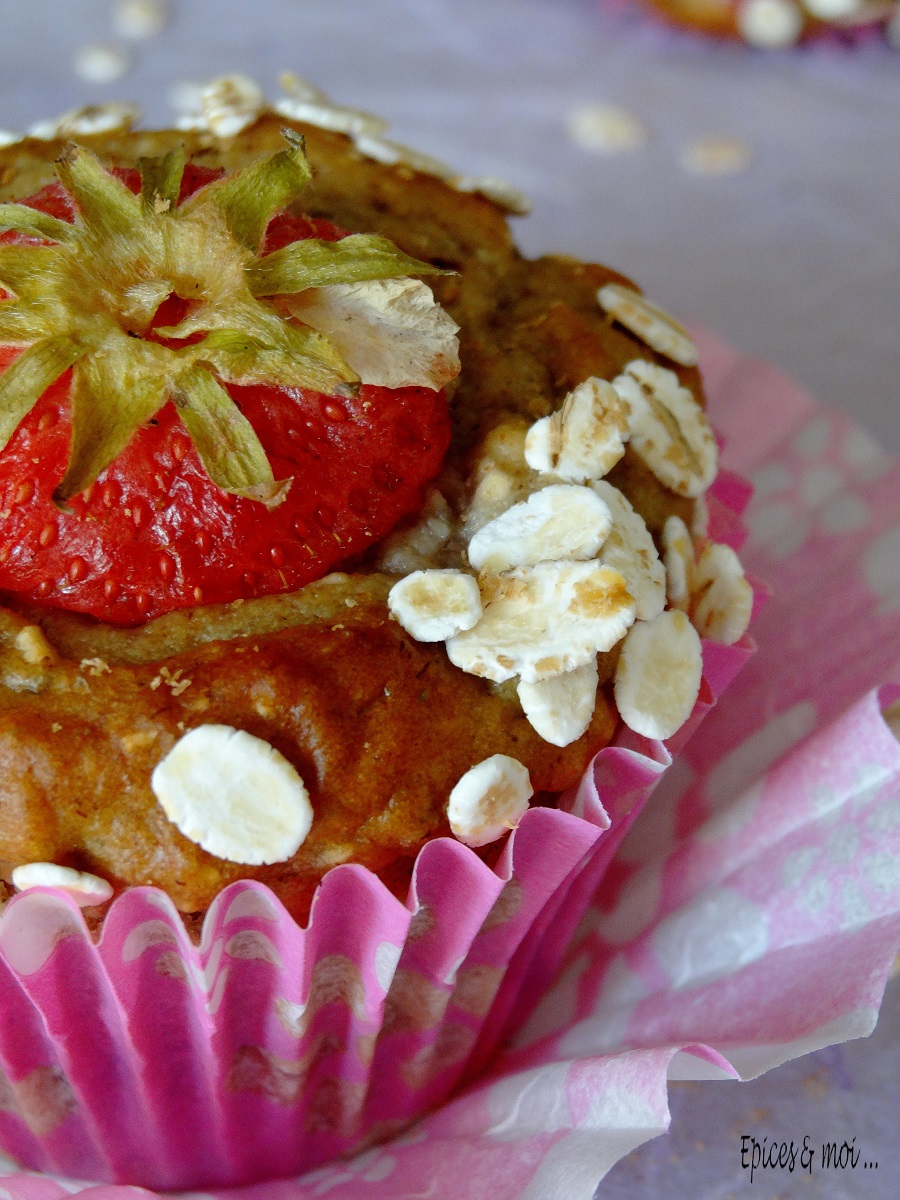 Muffins fraises 2