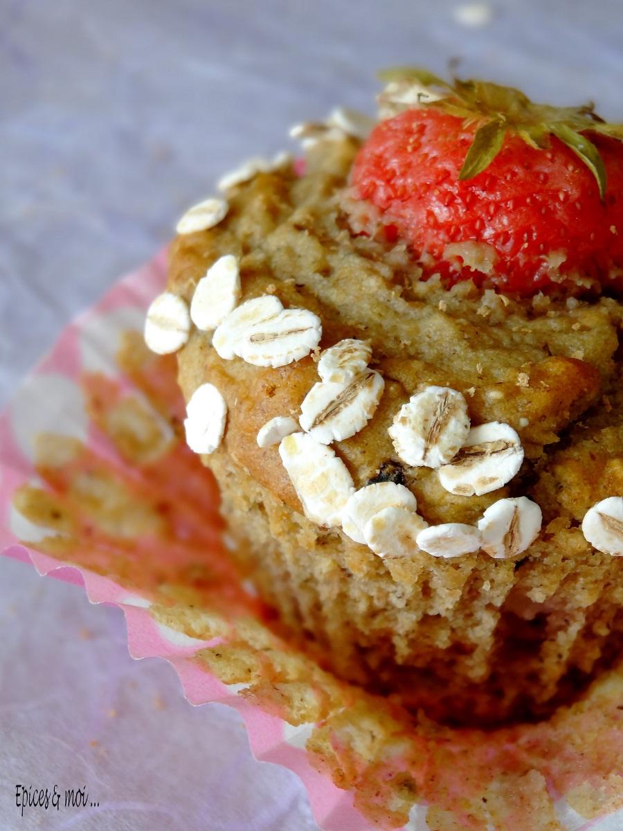 Muffins fraises 4
