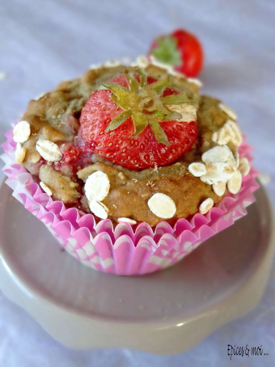 Muffins fraises 6
