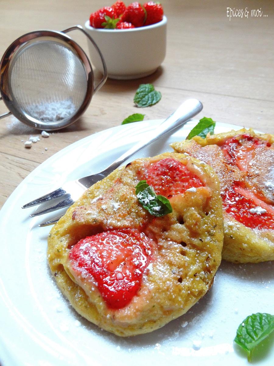 E&m Pancakes fraises 3