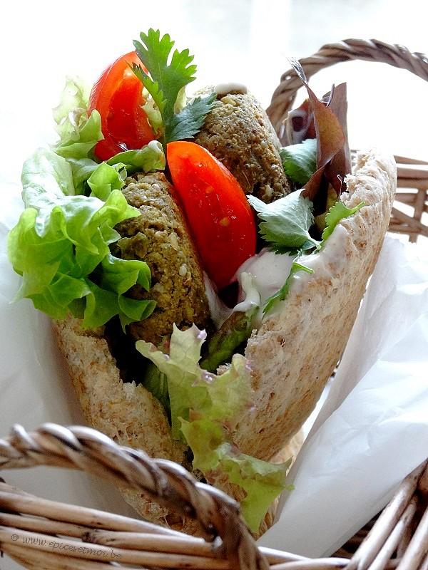 Lpicerie le monde des falafels youtube for Cuisine libanaise