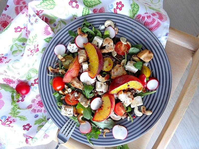 Epices&moi-Salade riz pêches 2