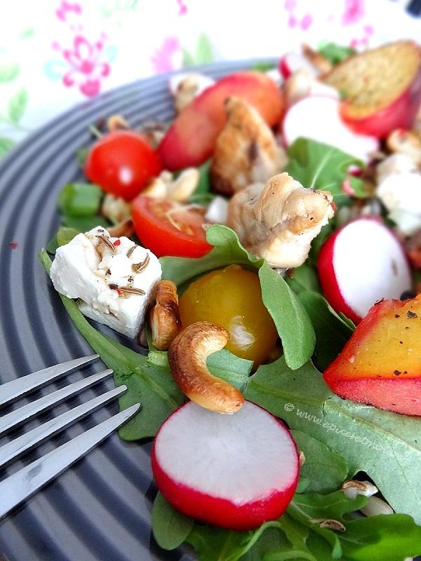 Epices&moi-Salade riz pêches 5