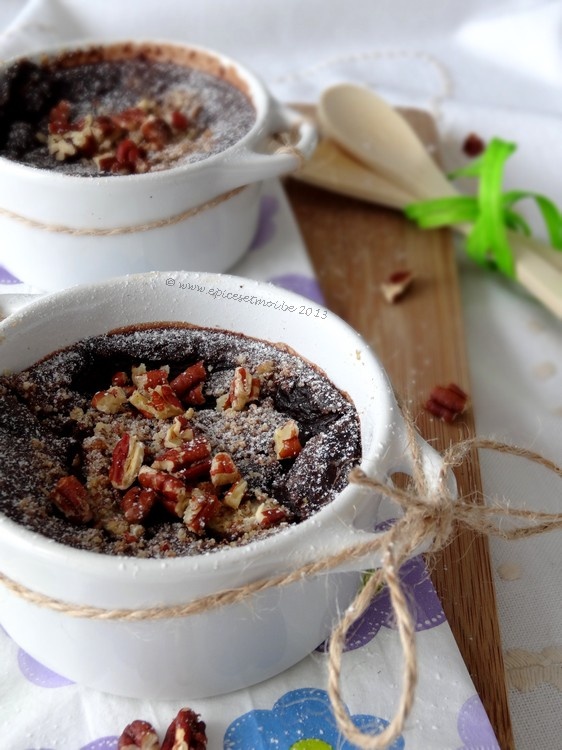 Epices & moi - Clafoutis poires chocolat 4