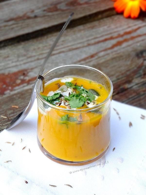 Epices&moi crème de carottes cumin 7