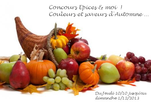 http://www.epicesetmoi.be/2013/10/concours-couleurs-et-saveurs-dautomne.html