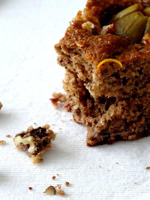 Epices & moi Gâteau noix et figues 2