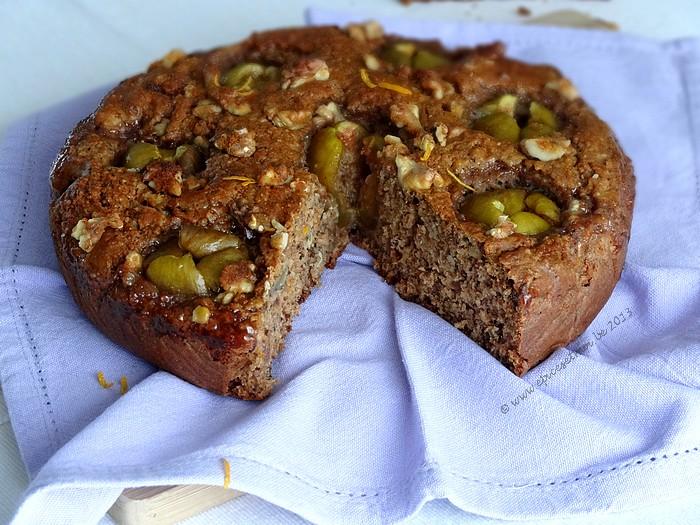 Epices & moi Gâteau noix et figues 3