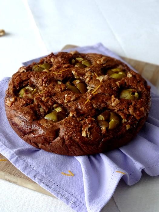 Epices & moi Gâteau noix figues 4