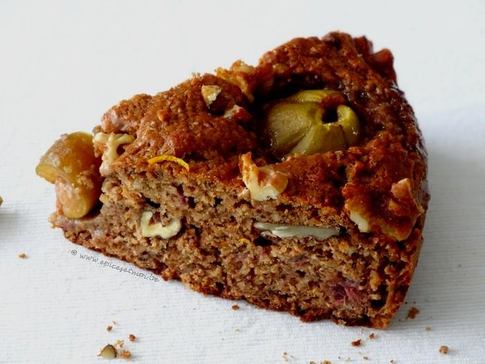Epices & moi Gâteau noix figues 5