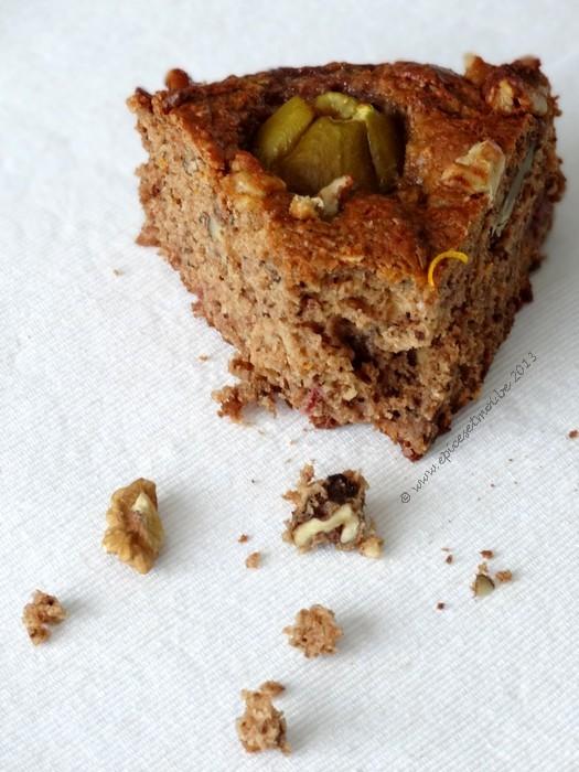 Epices & moi Gâteau noix figues 7