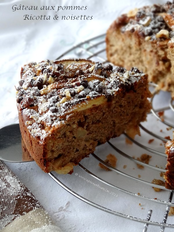 Epices&moi Gâteau pomricotta 3