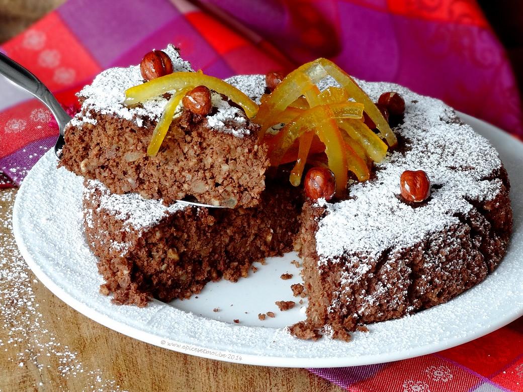Epices & moi Gâteau chocorange 3