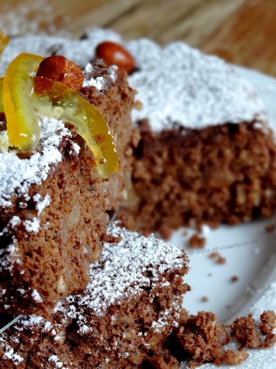 Epices & moi Gâteau chocorange 4