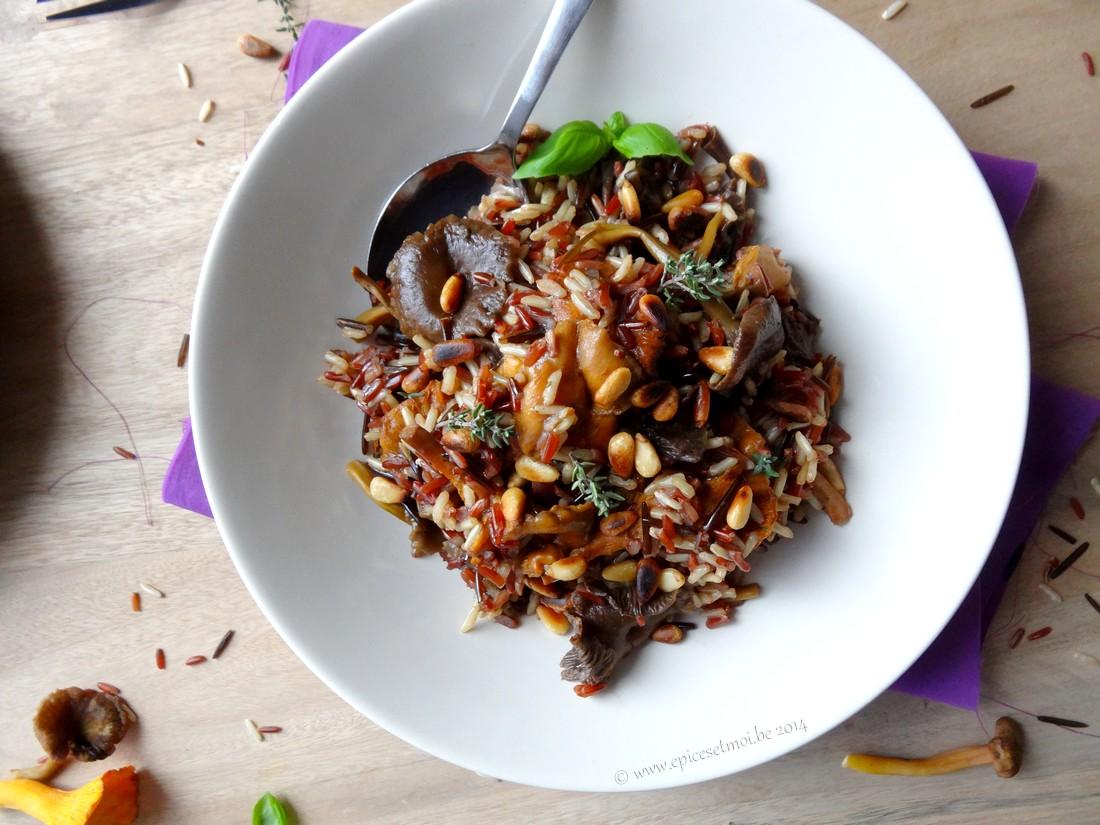 Epices & moi Pilaf  riz sauvage 2