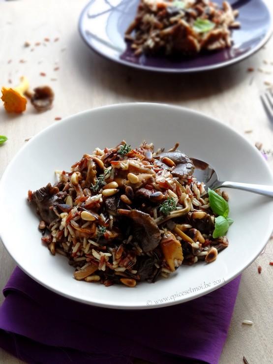 Epices & moi Pilaf  riz sauvage 4