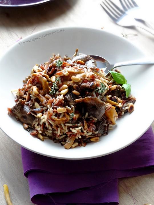 Epices & moi Pilaf  riz sauvage 5