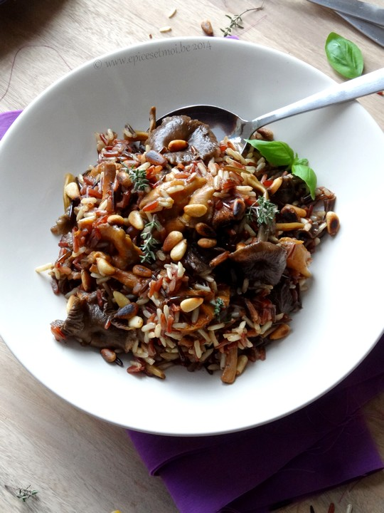 Epices & moi Pilaf  riz sauvage 6