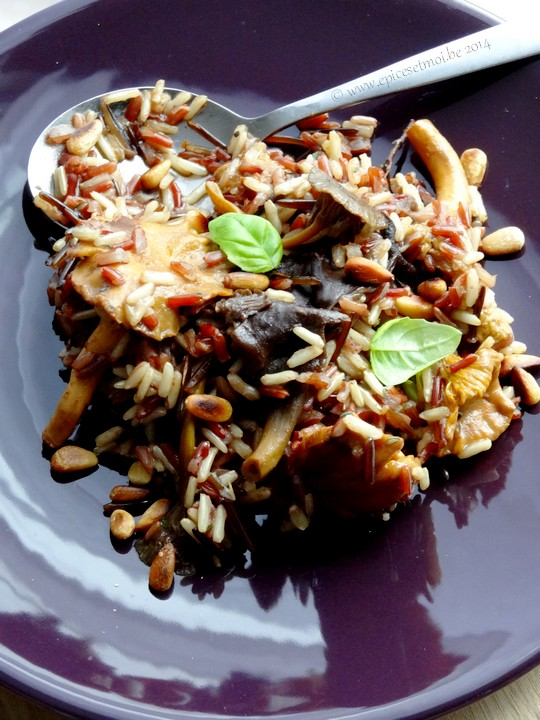 Epices & moi Pilaf  riz sauvage 7