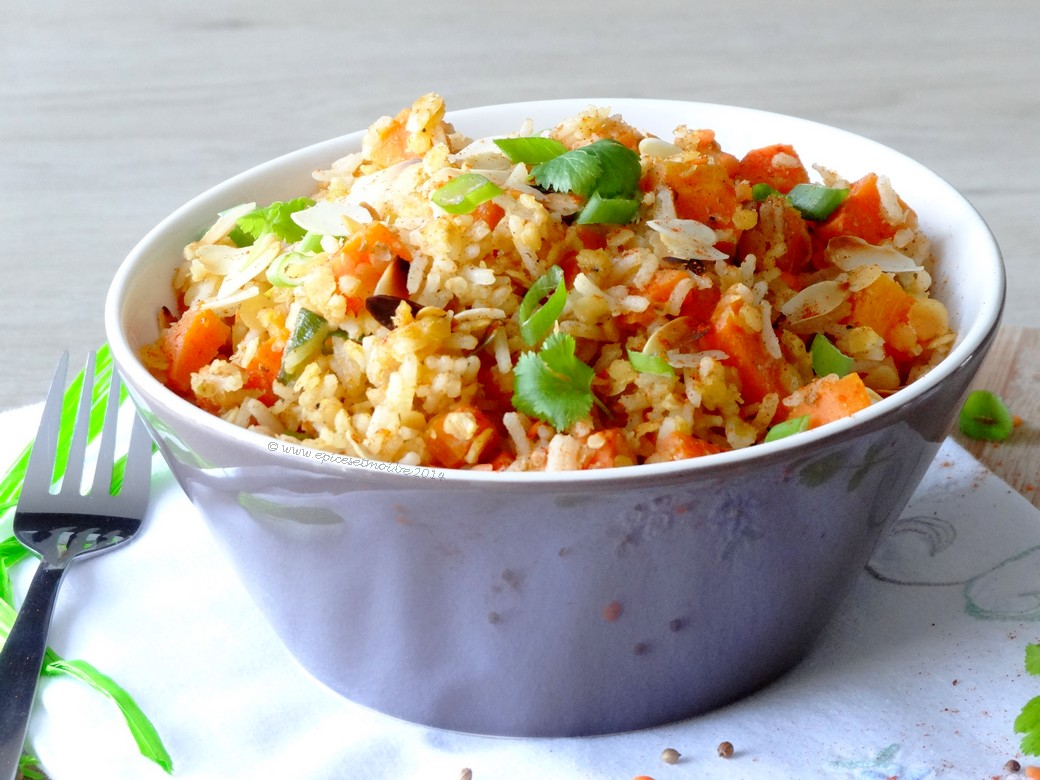 Epices & moi Salade riz lentilles 5