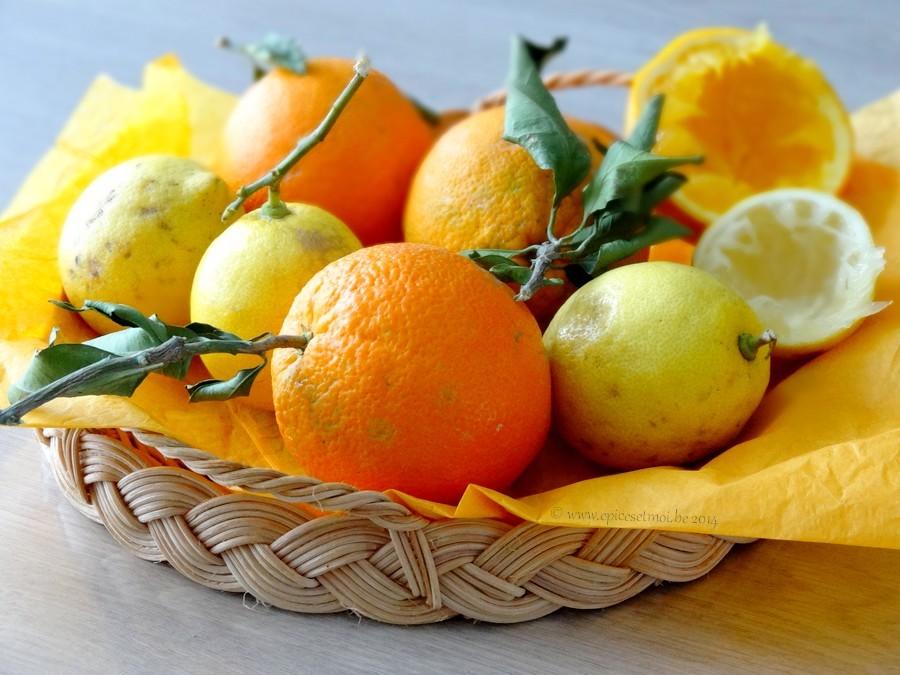 Epices & moi Gâteau oranges citrons 1