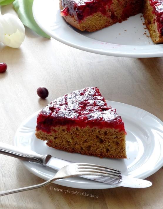 Epices & moi Gâteau renversé 1