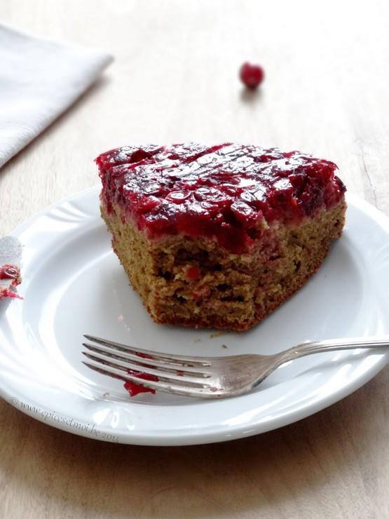 Epices & moi Gâteau renversé 2