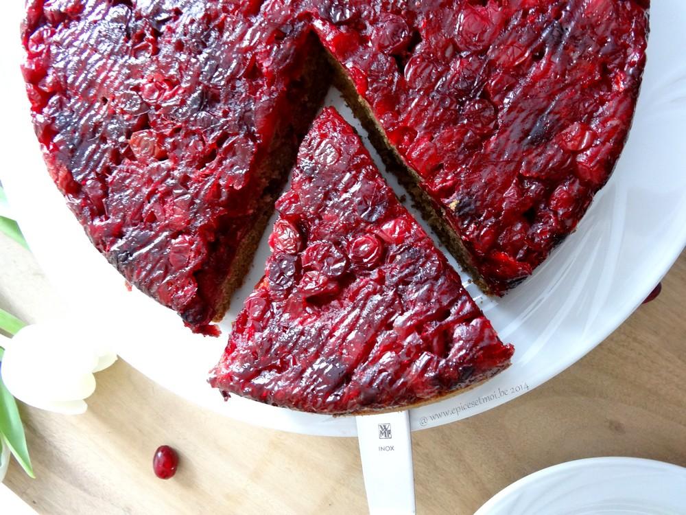 Epices & moi Gâteau renversé 3