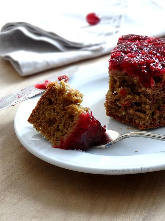 Epices & moi Gâteau renversé 4