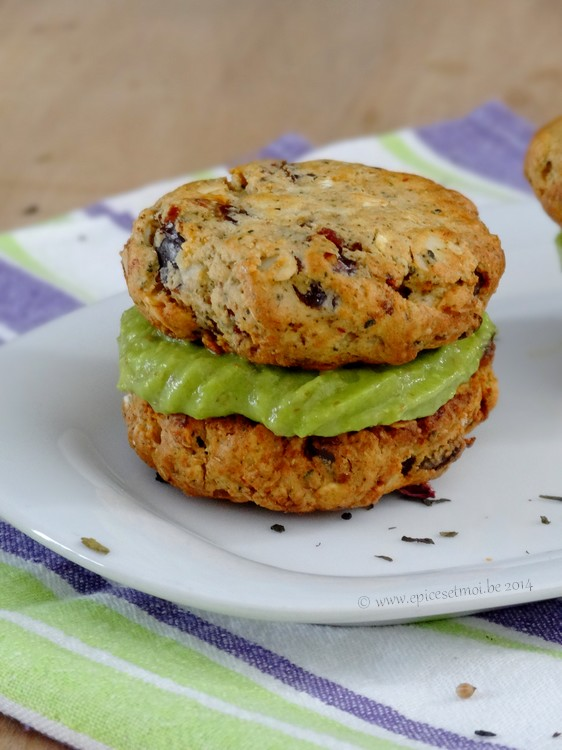 Epices & moi Sandwich cookies 2