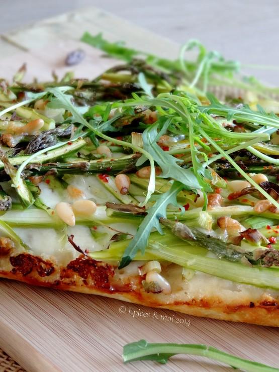 Epices & moi Pizza asperges 2