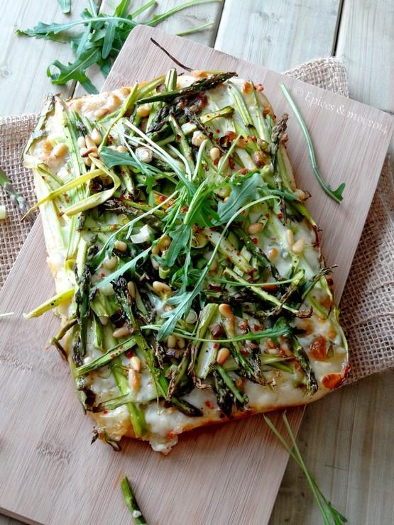 Epices & moi Pizza asperges 3