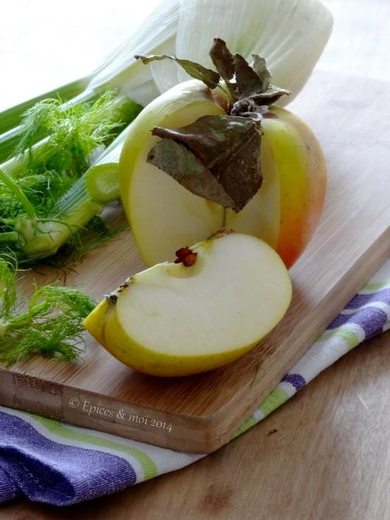 Epices & moi Quiche fenouil pommes 2