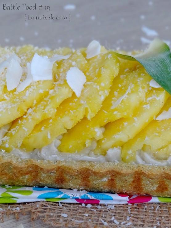 Epices & moi Tarte coco ananas 4