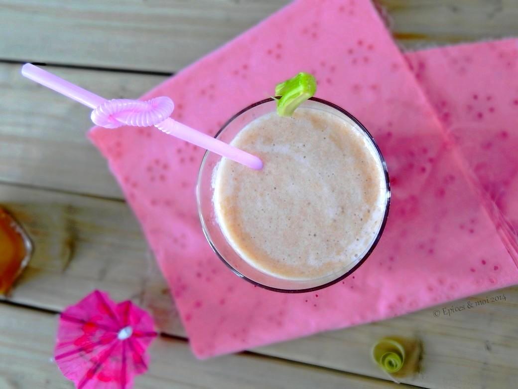 Epices & moi Thé glacé rhubarbe 3