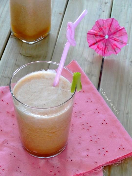Epices & moi Thé glacé rhubarbe 7