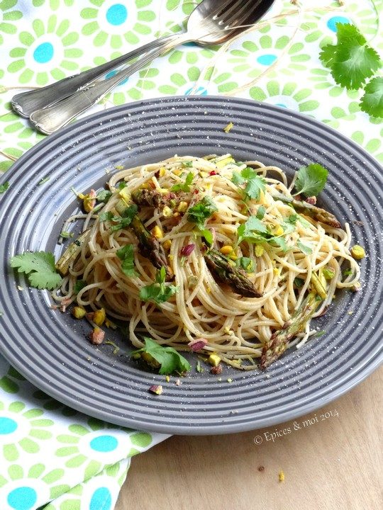 Epices & moi Candide Spaghetti citron 10
