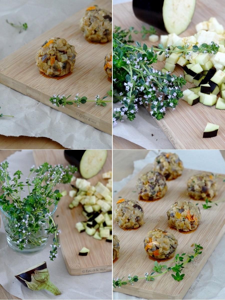 Epices & moi Candide Boulettes d'aubergines 10